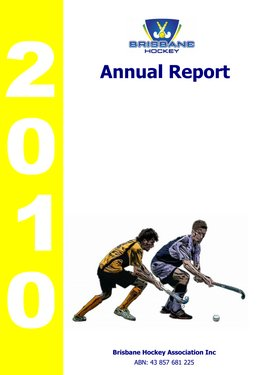 2010 BHA Annual Report Cover