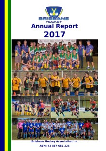 2017 BHA Annual Report Cover