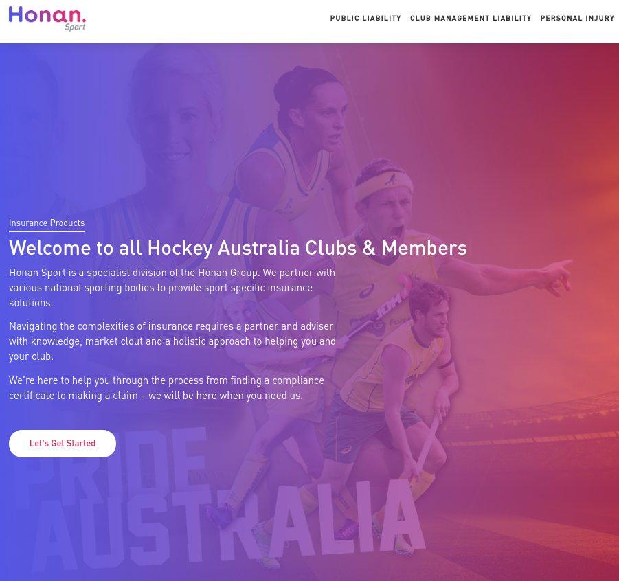Honan Sports Insurance Website ...