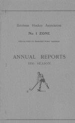 Annual Reports 1950 Season