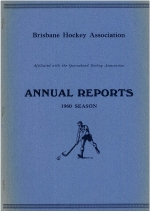 1960 Season Annual Report Cover