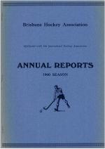 1960 Season Annual Report Cover