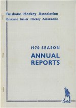 BHA Inc Annual Report Cover 1970