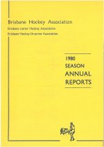 BHA Inc Annual Report Cover 1980